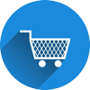 Icon representing an online shop or e-commerce site
