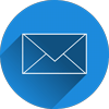 Envelope icon representing email