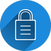 SEO padlock icon representing site security
