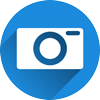 Camera icon representing images to be used in your website