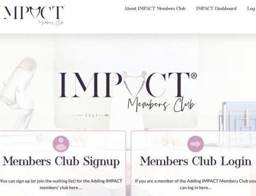 Adding IMPACT