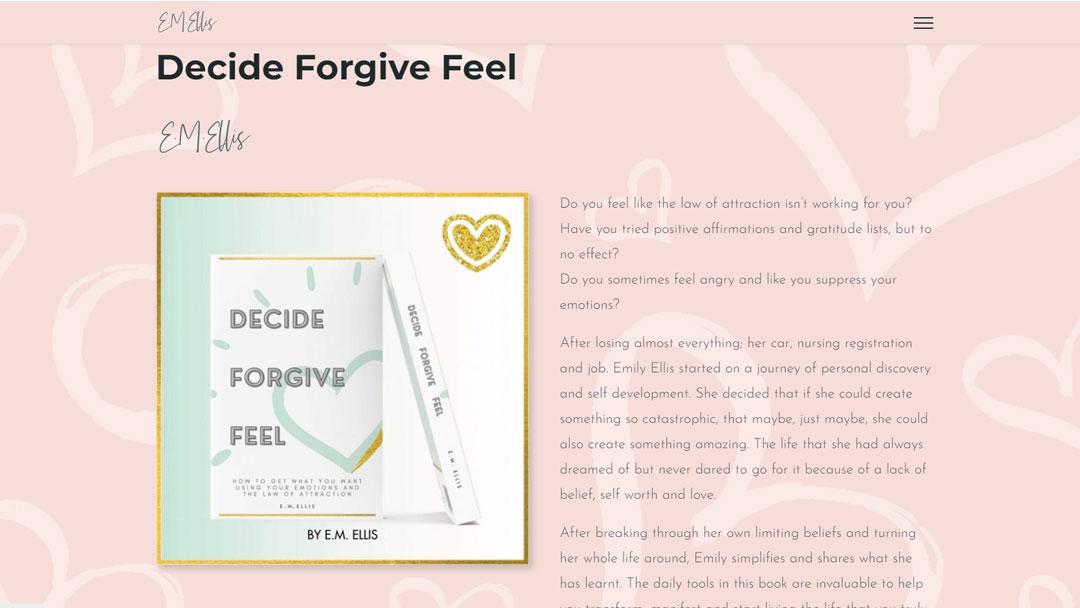 E M Ellis web page promoting book