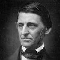 Image of Ralph Waldo Emerson from 1857